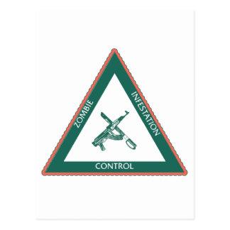Zoombie unity control postcard