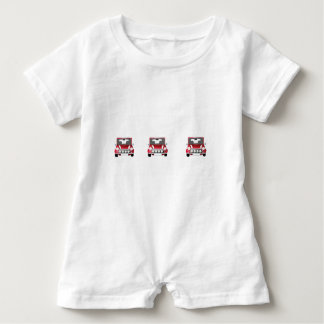 Zoomin Jeep Baby Baby Romper