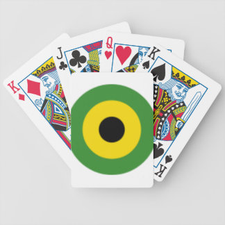 Zooming on Jamaica Bicycle Playing Cards