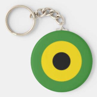 Zooming on Jamaica Keychain