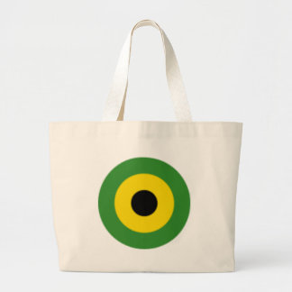 Zooming on Jamaica Large Tote Bag