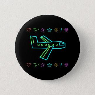 Zooper Plane 2 Inch Round Button