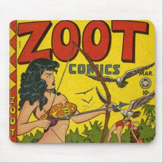 Zoot comics mouse pad