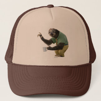 Zootopia | A Working Sloth Trucker Hat