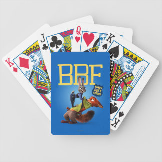 Zootopia | Bunny Best Friend Bicycle Playing Cards