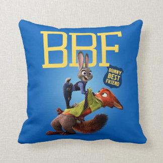 Zootopia | Bunny Best Friend Throw Pillow