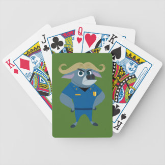 Zootopia | Chief Bogo Bicycle Playing Cards