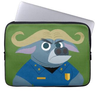 Zootopia | Chief Bogo Laptop Sleeve