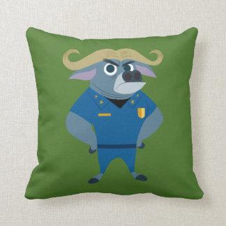 Zootopia | Chief Bogo Throw Pillow