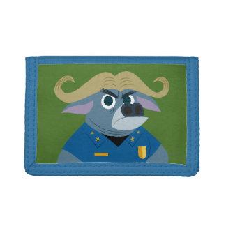 Zootopia | Chief Bogo Tri-fold Wallets