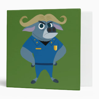 Zootopia | Chief Bogo Vinyl Binder