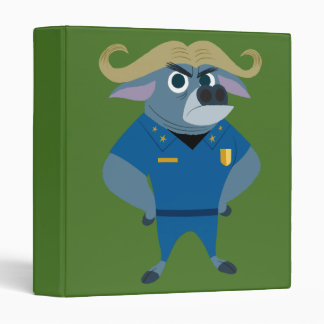 Zootopia | Chief Bogo Vinyl Binders