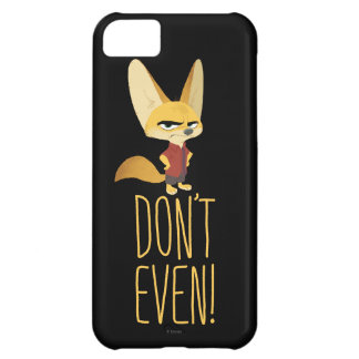 Zootopia | Finnick - Don't Even! Case-Mate iPhone Case