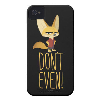 Zootopia | Finnick - Don't Even! iPhone 4 Case-Mate Cases