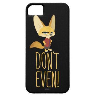 Zootopia | Finnick - Don't Even! iPhone 5 Cover