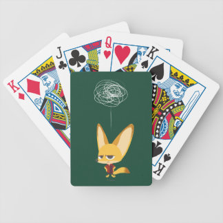 Zootopia | Finnick - This Will Never Work Bicycle Playing Cards