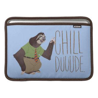 Zootopia   Flash - Chill Duuude MacBook Sleeve