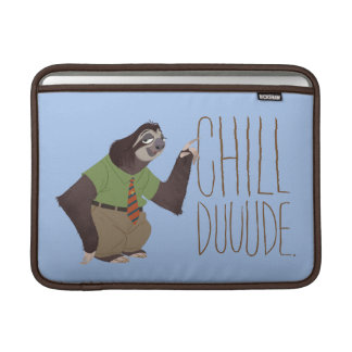 Zootopia   Flash - Chill Duuude Sleeve For MacBook Air