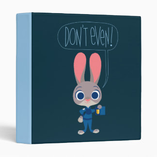 Zootopia   Judy Hopps - Join Today! 3 Ring Binder