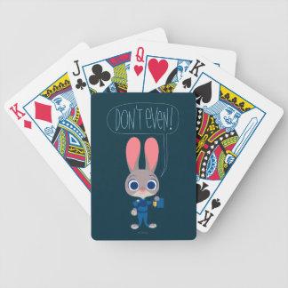Zootopia | Judy Hopps - Join Today! Poker Deck