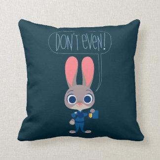 Zootopia | Judy Hopps - Join Today! Throw Pillow