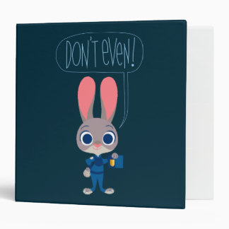 Zootopia | Judy Hopps - Join Today! Vinyl Binder