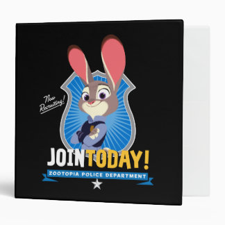 Zootopia | Judy Hopps - Join Today! Vinyl Binders
