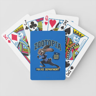 Zootopia | Judy Hopps - Keeping Critters Safe! Bicycle Playing Cards