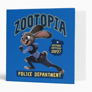 Zootopia   Judy Hopps - Keeping Critters Safe! Binder