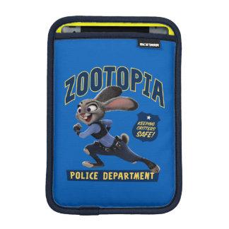 Zootopia | Judy Hopps - Keeping Critters Safe! iPad Mini Sleeve