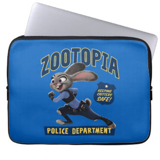 Zootopia | Judy Hopps - Keeping Critters Safe! Laptop Sleeve