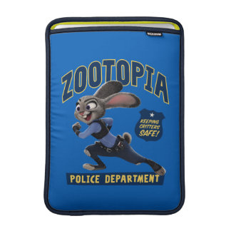 Zootopia | Judy Hopps - Keeping Critters Safe! MacBook Sleeve