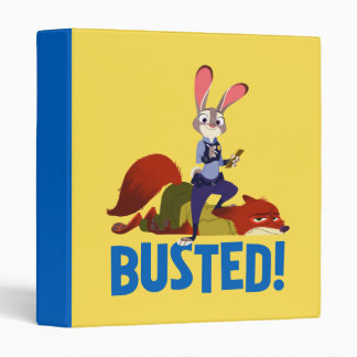 Zootopia | Judy Hopps & Nick Wilde - Busted! 3 Ring Binder