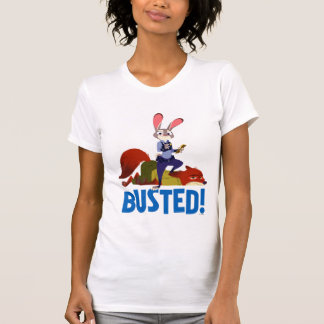 Zootopia | Judy Hopps & Nick Wilde - Busted! T-Shirt