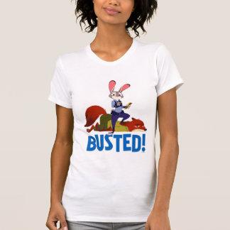 Zootopia | Judy Hopps & Nick Wilde - Busted! T-Shirt