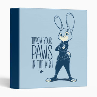 Zootopia | Judy Hopps - Paws in the Air! Binder