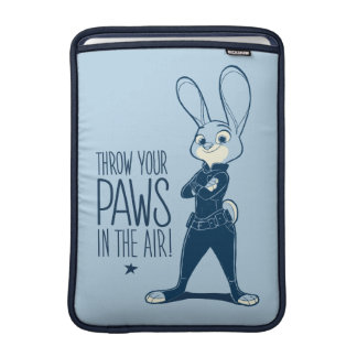 Zootopia | Judy Hopps - Paws in the Air! MacBook Sleeve