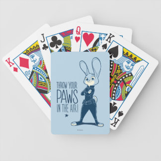 Zootopia | Judy Hopps - Paws in the Air! Poker Deck