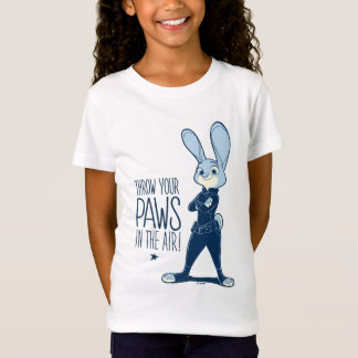 Zootopia | Judy Hopps - Paws in the Air! T-Shirt