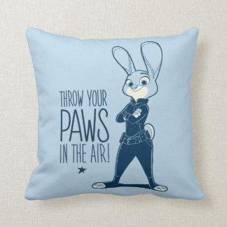 Zootopia | Judy Hopps - Paws in the Air! Throw Pillow