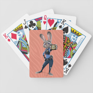 Zootopia | Judy Hopps - Showing Badge Bicycle Playing Cards