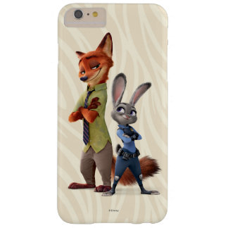 Zootopia | Judy & Nick Best Buddies Barely There iPhone 6 Plus Case