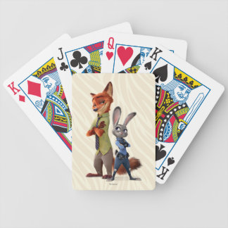 Zootopia | Judy & Nick Best Buddies Bicycle Playing Cards