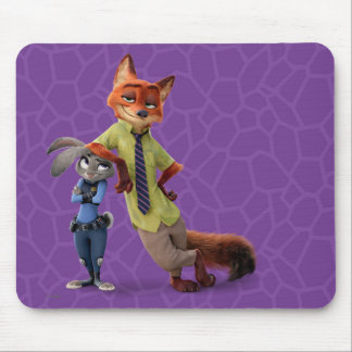 Zootopia | Judy & Nick - Just Chilling! Mouse Pad