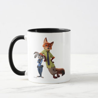 Zootopia | Judy & Nick - Just Chilling! Mug