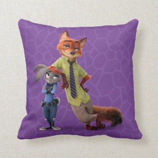 Zootopia | Judy & Nick - Just Chilling! Throw Pillow