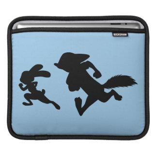Zootopia   Judy & Nick Running Silhouette iPad Sleeve
