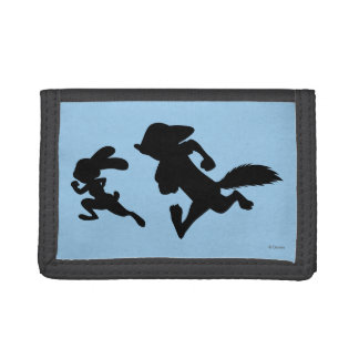 Zootopia | Judy & Nick Running Silhouette Trifold Wallet