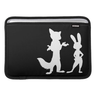 Zootopia | Judy & Nick Silhouette Sleeve For MacBook Air