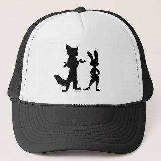 Zootopia | Judy & Nick Silhouette Trucker Hat